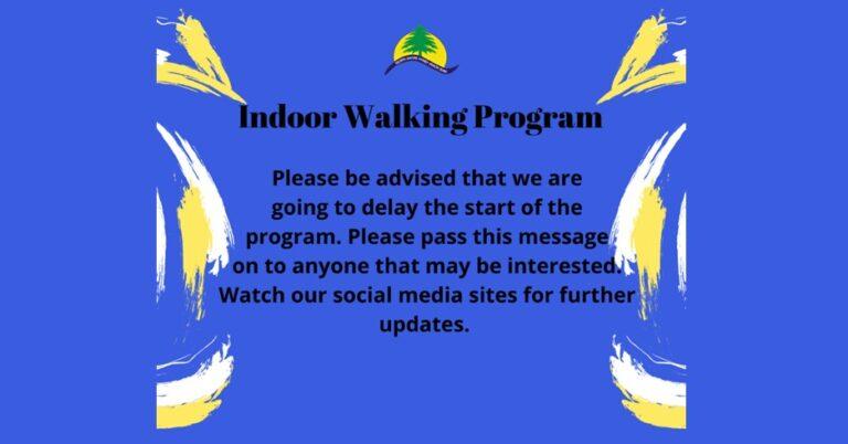Indoor Walking Program