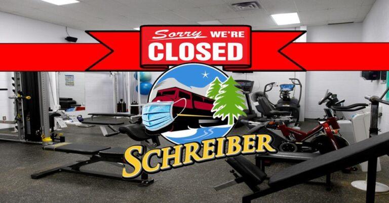 The Schreiber Fitness Centre Closure